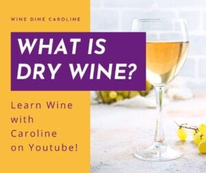 what is dry wine